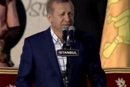 Yenikapı meydanı Erdoğan ile çoştu!