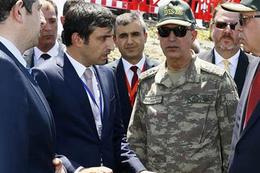 Erdoğan'ın damadı sahalara indi