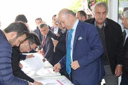 Boluspor'un yeni başkanı Necip Çarıkcı oldu