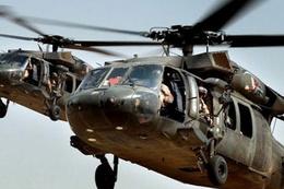 Askeri helikopter düştü 17 asker öldü