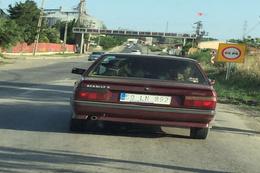 Böylesi ancak Türkiye'de olur! İneği arabaya bindirip...