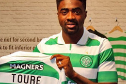Kolo Toure Celtic'e transfer oldu