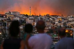 İzmir'deki yangın yürekleri ağza getirdi