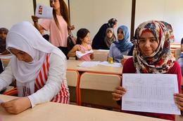 Suriyeli öğrencilere meslek lisesi müjdesi