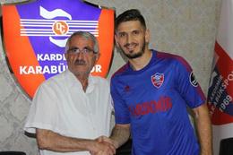 Ermin Zec Karabükspor ile anlaştı