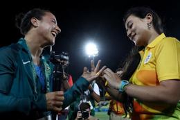 Rio 2016'da eşcinsel evlilik teklifi