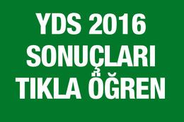 YDS sonuçları ÖSYM sorgu ekranı 2016
