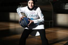 Kadın basketçiye başörtü izni!