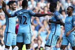Manchester City fire vermeden ilerliyor