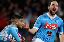 6 gollü maçın galibi Napoli oldu