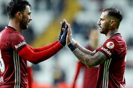 Beşiktaş - Darıca Gençlerbirliği maçından kareler