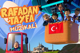 Rafadan Tayfa müzikali İstanbul'da!