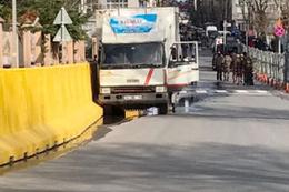 İstanbul Emniyeti çevresinde silah sesleri kamyonet bariyerleri aştı