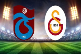 Trabzon'da büyük derbi: Trabzonspor 2 - Galatasaray 1