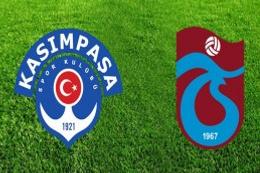 Trabzonspor Kasımpaşa'yı 3 golle geçti!