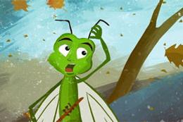 Ağustos böceği ile karınca