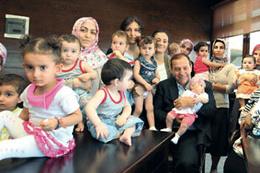 Alo Başkan tüp bebek istiyoruz
