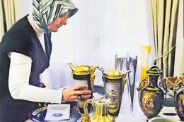 Çankaya'daki eserler Ak Saray'a taşınıyor