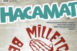 İslamcı mizah dergisi Hacamat'tan olay kapak!