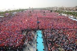 Maltepe Mitingi Erdoğan'dan Davutoğlu'na büyük miras