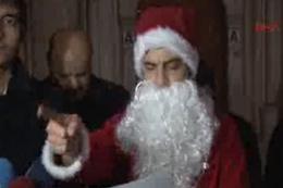 Alperenler Noel Baba'yı müslüman yaptı
