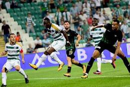 Bursaspor'un kötü oyunu verilere yansıdı