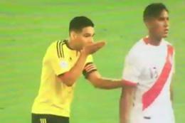 Kolombiyalı Falcao Perulu rakiplerine ne anlatıyor?