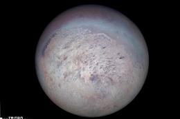 TÜBİTAK Neptün'ün ters yöne dönen uydusu Triton'u inceledi