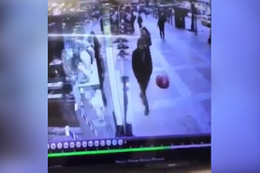 Balona rövaşata atan çocuk bulundu