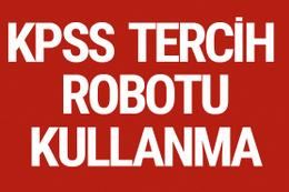 KPSS tercih robotu kullanımı 2017/2 tercih ücreti ne kadar?