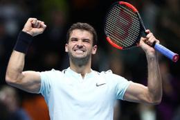 Dimitrov namağlup yarı finale