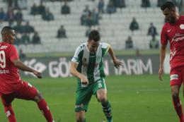 Atiker Konyaspor Antalyaspor maçı sonucu ve özeti