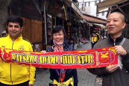 Koreli turistlerin Kayserispor sevgisi