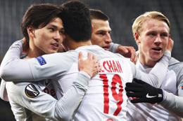 Salzburg gruptan çıkmayı garantiledi