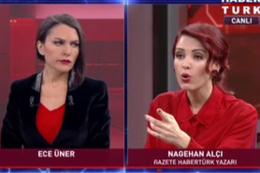 Nagehan Alçı ve Ahmet Yavuz canlı yayında birbirine girdi