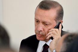 Ahmet Edip Uğur Cumhurbaşkanı Erdoğan'ı aradı