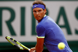 Nadal Paris'te çeyrek finalde