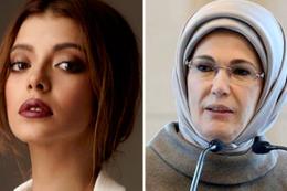 Oyuncu Selin Şekerci Emine Erdoğan'dan özür diledi
