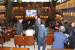 İstanbul Büyükşehir Belediyesi'nde olaylı oturum
