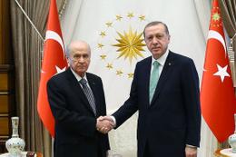 Erdoğan-Bahçeli görüşmesi sonrası flaş Kudüs vurgusu!