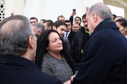 Yavuz Yılmaz'ın cenazesi Mesut Yılmaz ve Berna Yılmaz perişan