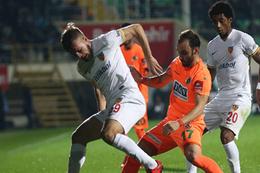 Alanyaspor Kayserispor maçı sonucu ve özeti