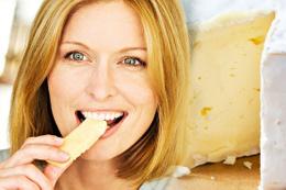 Bembeyaz dişler için kesin çözüm 'peynir'