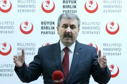BBP Genel Başkanı Destici açıkladı! Referandum kararımız...