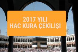 Hac kura sonuçları 2017 hac sorgulama
