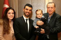 Cumhurbaşkanı Erdoğan Sofuoğlu ailesini kabul etti