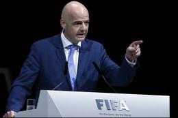 FIFA Başkanı Infantino İstanbul'a geldi