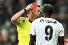 Aboubakar'ın cezası belli oldu!