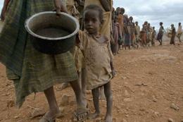 Somali açlıkla boğuşuyor 6 milyon kişi zor durumda