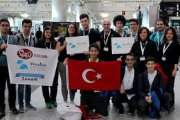 Türk öğrencilerin robotu ABD'de boy gösterecek
